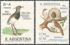 Argentina 1966 Lapwing/Hornero/Birds/Nature/Wildlife/Welfare 2v set (n31664)
