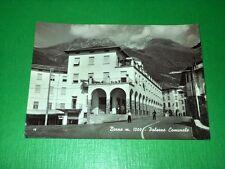 Cartolina Borno - Palazzo Comunale 1959