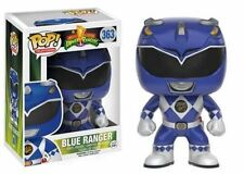 "POWER RANGERS - AZUL RANGER 3.75"" POP TV FIGURA DE VINILO FUNKO"