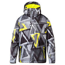 Quiksilver Mission Snowboard Jacket (L) Yellow