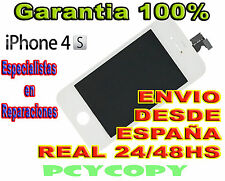 PANTALLA LCD COMPLETA + TACTIL PARA IPHONE 4S CRISTAL BLANCO 4 TOUCH SCREEN