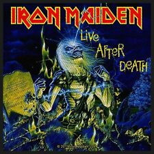 IRON MAIDEN - Patch Aufnäher - Live after death 10x10cm