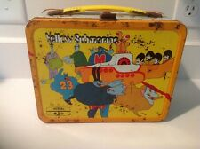 THE BEATLES YELLOW SUBMARINE LUNCH BOX 1968