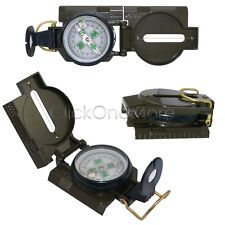 New Lensatic Compass Military Army Style Camping Hiking Survival Marching