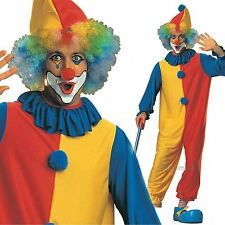 ADULT MENS FUNNY CLASSIC CIRCUS CLOWN COSTUME FANCY DRESS CARNIVAL COMEDY