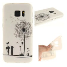 Dandelion Design Rubber Soft TPU Phone Back Case Cover For All mobile phones