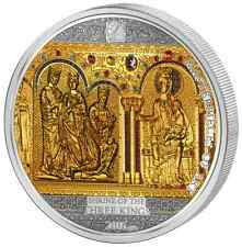 Cook Islands 2016 Gold 25$ + Silver 20$ Masterpieces of Art - Three Holy Kings
