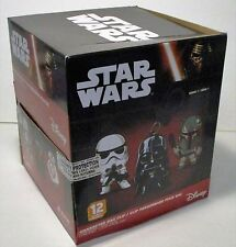 STAR WARS NEW RETAIL DISPLAY CASE OF 24  BLIND BAG FIGURAL BAG CLIPS FREE SHIP
