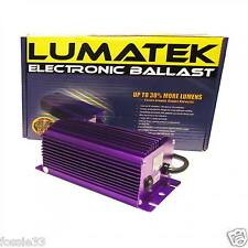 LUMATEK 400W BALASTO REGULABLE DIGITAL