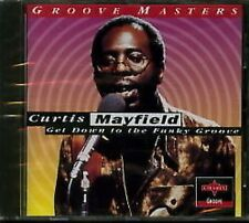 Curtis Mayfield Get Down To Funky Groove CD NEW SEALED