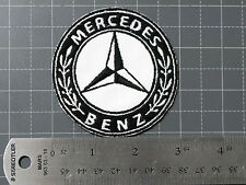 MERCEDES BENZ STAR OLD LOGO CLASSIC BADGE CAR MOTORCYCLE BIKER RACING PATCH