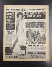 NME: New Musical Express, Feat Freda Payne etc November 7th 1970
