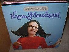 NANA MOUSKOURI an american album & voice of greece  ( world music ) - 2 LP LOT