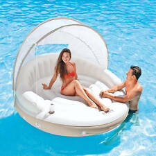 Intex Inflatable Canopy Island Float Lounge