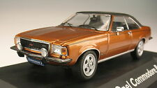 SCHUCO - Opel Commodore B - Coupe gold metallic - 1:43 - NEU in OVP – Modellauto