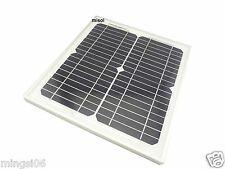 misol 10w solar panel for 12V system, mono panel photovoltaic panel solar module