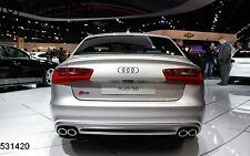 Audi A6 S6 C7 2013-ON Boot Lip Spoiler UK SELLER