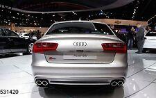 Audi A6 S6 C7 2013-ON Boot Lip Spoiler UK SELLER