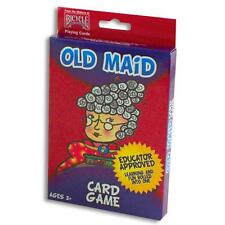 1 Deck Bicycle Old Maid Kids Playing Cards Game Children Big Box Oversize New
