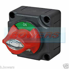 12v/24v marine amovible clé/bouton batterie isolateur cut off kill switch on off