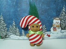 "CANDY CANE - 3"" Russ Troll Doll - Excellent Condition - RARE"