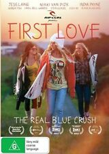 First Love The Real Blue CrushDVD - New/Sealed Region 4 DVD