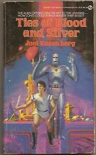 JOEL ROSENBERG Ties of Blood and Silver. 1st ed. Vincent Di Fate cover.