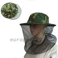 Insect Mosquito Net Mesh Face Fishing Hunting Outdoor Camping Hat Cap Creative