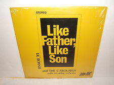 LP POLKA- LIL'RONNIE AND THE CAROUSELS - LIKE FATHER LIKE SON.DJLP-1005