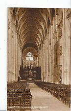 Hampshire Postcard - Winchester Cathedral - Nave     XX475
