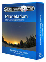 The Best Pro Stargazing Astronomy Planetarium & 3D Space Simulation Software CD