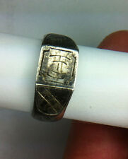 "Antique WW1 U.S. ARMY 1918-19 ""Prison Camp"" Trench Art RING"