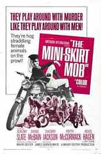 Mini Skirt Mob Poster 01 Metal Sign A4 12x8 Aluminium