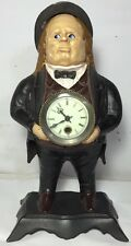 "BRADLEY AND HUBBARD ""JOHN BULL"" MOVING EYE CLOCK"