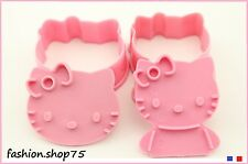 Moules Emporte Piece HELLO KITTY Pack Set De 2 Gateaux Biscuits Décoration
