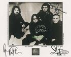 BLACK SABBATH SIGNED 10X8 PHOTO, GREAT STUDIO IMAGE, LOOKS GREAT FRAMED