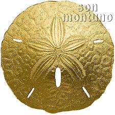 GOLD SAND DOLLAR - 1 Gram 24k Gold Coin in Capsule + COA - $1 Dollar 2017 Palau