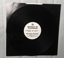 """Babes In Toyland We are family  12"""" EP promo white label grunge"""