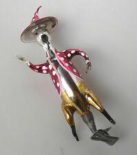 Volare fungo Waldmann spirito vetro personaggio di LAUSCHA nostalgia DECORAZIONI NATALIZIE