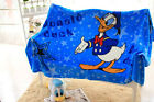 160*100cm Cartoon Donald Duck Parten Plush Baby Bed Sleeping Blanket Cover