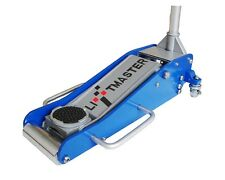 Liftmaster 2.5 Ton Aluminium 85mm Low Profile High Lift Trolley Race Jack 26Kg