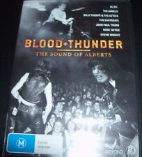 Blood + & Thunder Story Of The Alberts (AC/DC Angels)(Aust Region 4) DVD - NEW