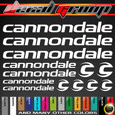 CANNONDALE MTB New Replacement Mountain Bike Frame Decals Stickers 13pcs