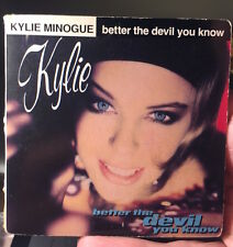 "KYLIE MINOGUE - BETTER THE DEVIL YOU KNOW - CBS FRENCH CD 3"" SINGLE 2 TRACKS"