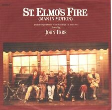 "JOHN PARR St. Elmo's Fire PICTURE SLEEVE 7"" 45 record + juke box title strip NEW"