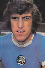 Football Photo TOMMY BOOTH Manchester City 1970s
