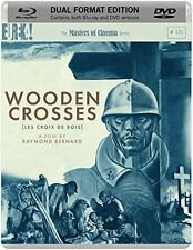 WOODEN CROSSES (Les Croix de Bois) di Raymond Bernard BLURAY+DVD NEW .cp
