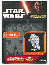 Metal Earth Star Wars SLAVE 1 3D Puzzle Micro Model