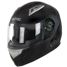 BRAND NEW HAWK BLUETOOTH HELMETS--MATTE BLACK SIZE EXTRA LARGE