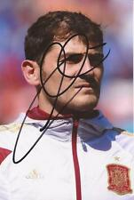 SPAIN & FC PORTO: IKER CASILLAS SIGNED 6x4 ACTION PHOTO+COA**PROOF**